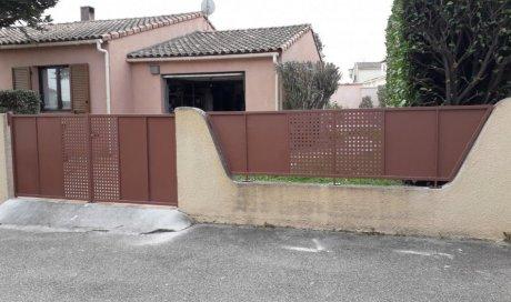 installation de portail sur mesure à Bouillargues